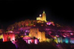 Sound and light audiovisual show in Veliko Tarnovo, Bulgaria